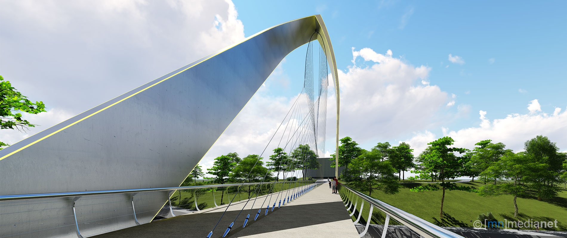 canal crossing bridge designs