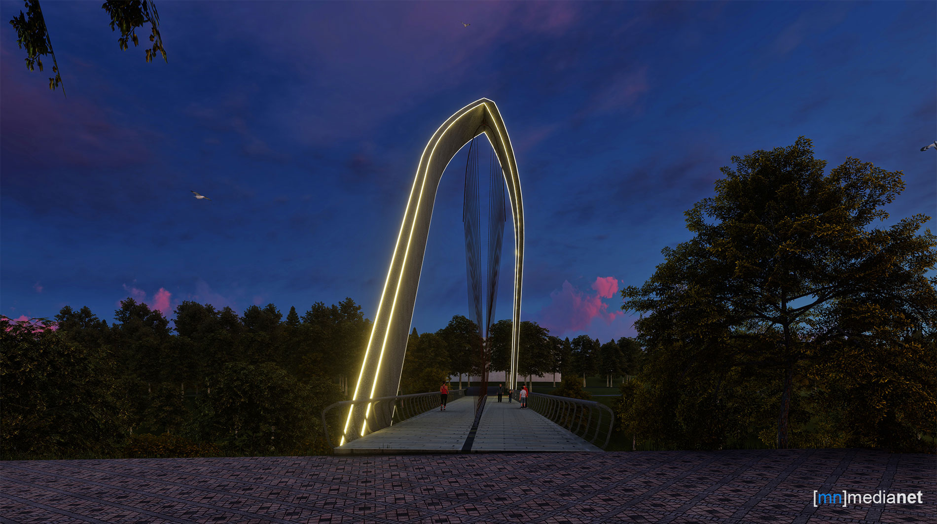 bridge lighting design